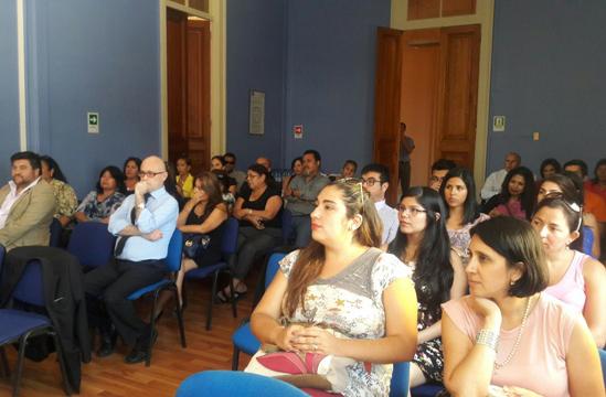Directora General de CAJTA se Reúne con Funcionario/as de Región de Tarapacá