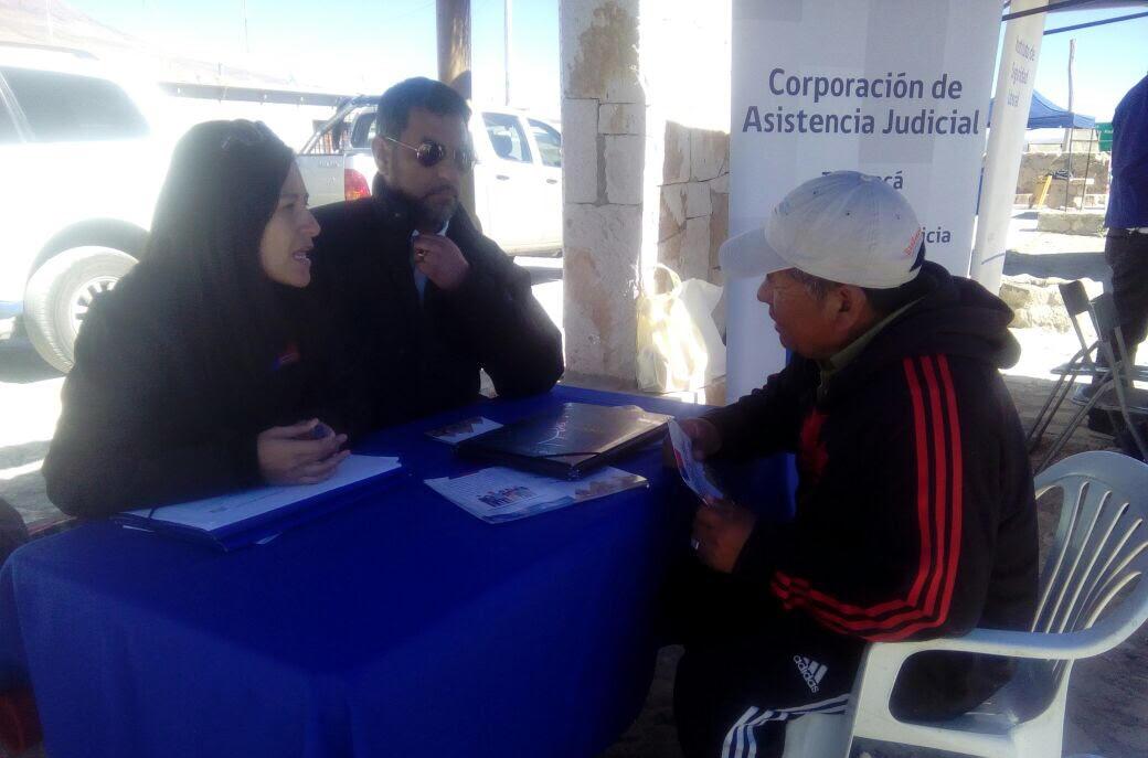 Consultorio Jurídico Móvil de Tarapacá Participa Gobierno Presente en Cariquima