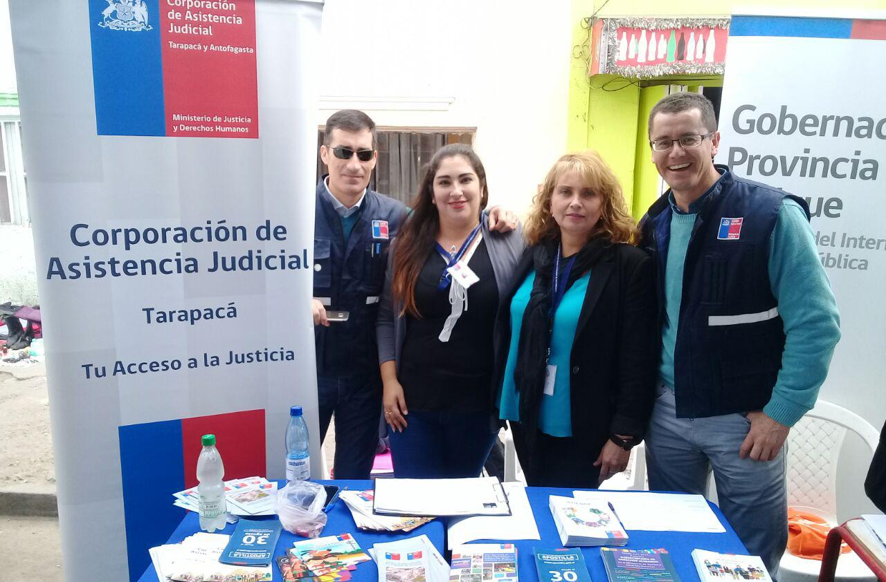 Centro de Familia de Iquique participa en Tu Gobierno Presente 2017