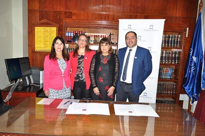 Corte de Apelaciones de Arica y la Corporación de Asistencia Judicial Firman Convenio