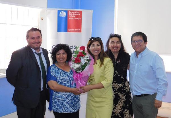 Reconocimiento a funcionaria Elisa Plaza Tirado, quien se Acoge a Retiro