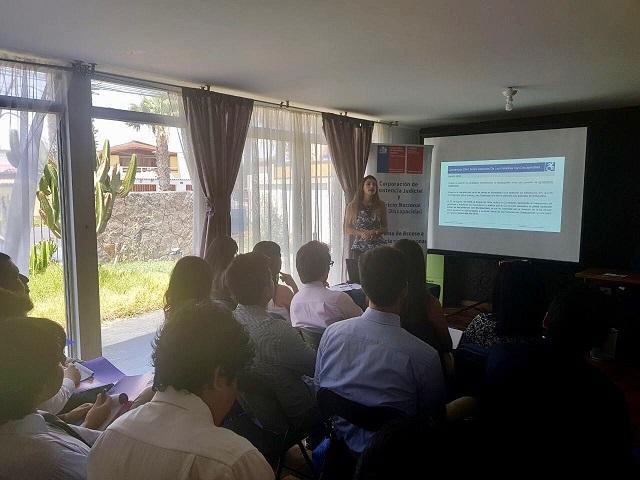 Arica: CAJTA-SENADIS Capacita Sobre Igualdad de Oportunidades e Inclusión Social de Personas con Discapacidad