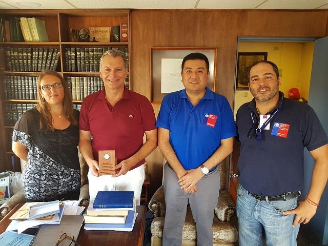 En Arica reconocen por su aporte y compromiso al consejero de CAJTA, Rodrigo Muñoz