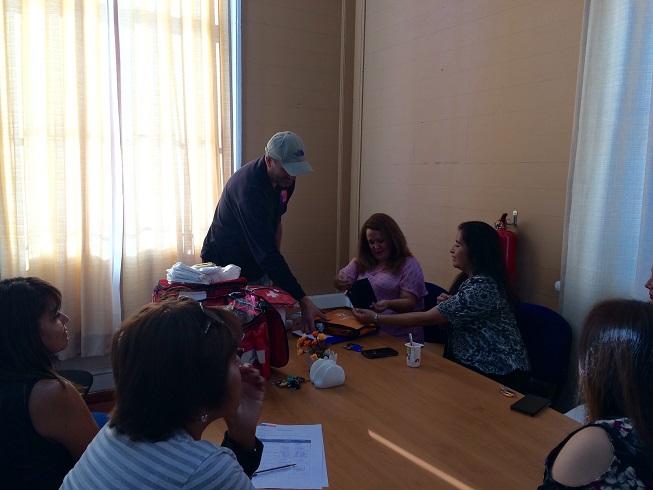 Entregan Kit de Emergencia en Dirección Regional de CAJ Tarapacá