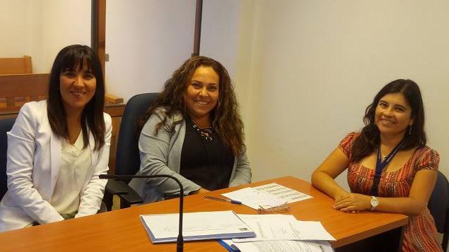 CAVI de Tarapacá se reúne con Consejeras Técnicas del Tribunal de Familia de Alto Hospicio