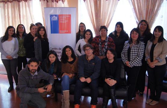 CAVI Antofagasta Capacita a Profesionales de Fundación Tabor