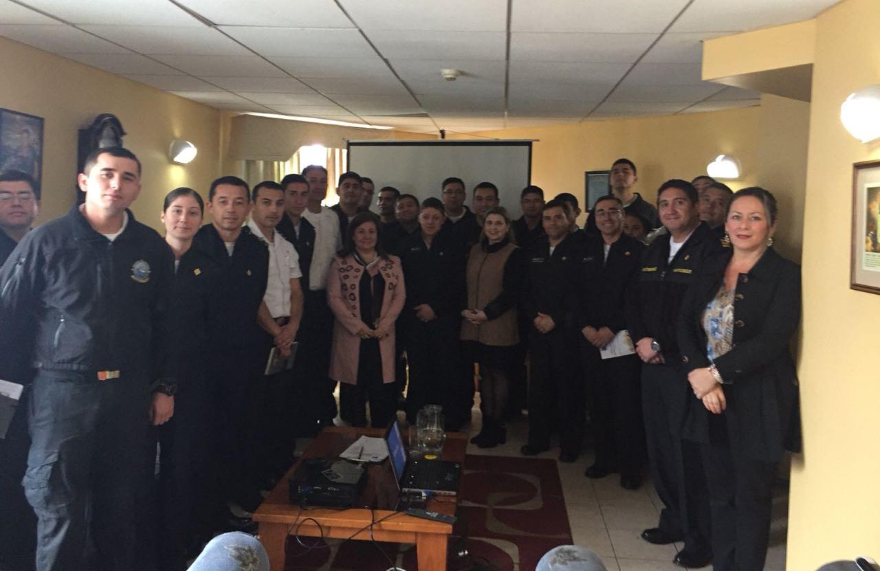 Centro de Familia de la CAJTA finaliza jornada de talleres sobre Violencia Intrafamiliar a efectivos de la Armada
