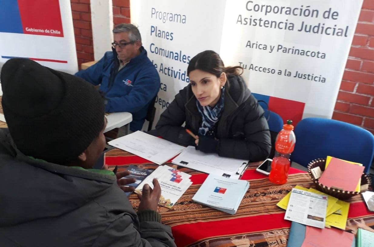 """Difunden campaña """"Llegando hasta donde vives"""" en localidad de Colpita en la Provincia de Parinacota"""