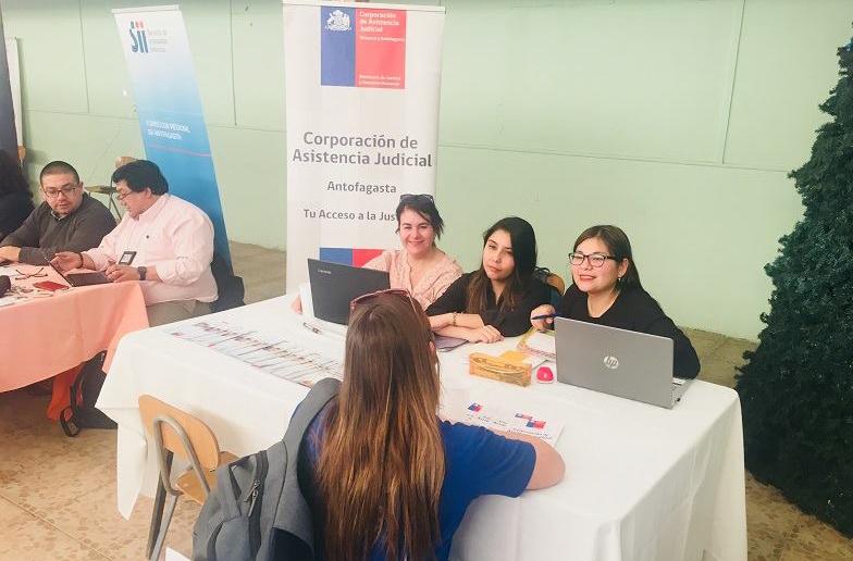 """Campaña """"Llegando hasta dónde vives"""" es difundida en Quillagua, localidad ubicada en la Región de Antofagasta"""