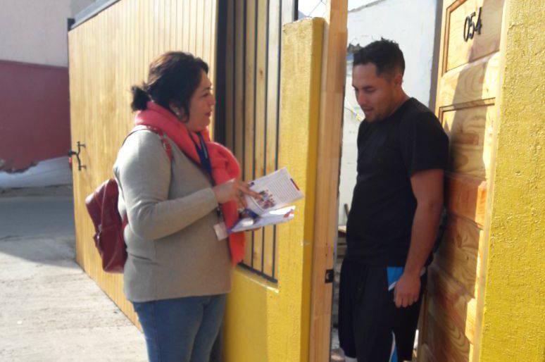 """CAVI de Antofagasta Difunde la campaña """"La Corporación de Asistencia Judicial en su Casa"""
