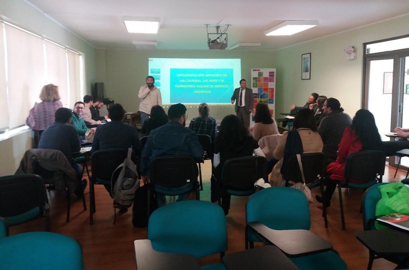 La Oficina de Defensa Laboral, de Tarapacá llevó adelante recientemente un par de charlas