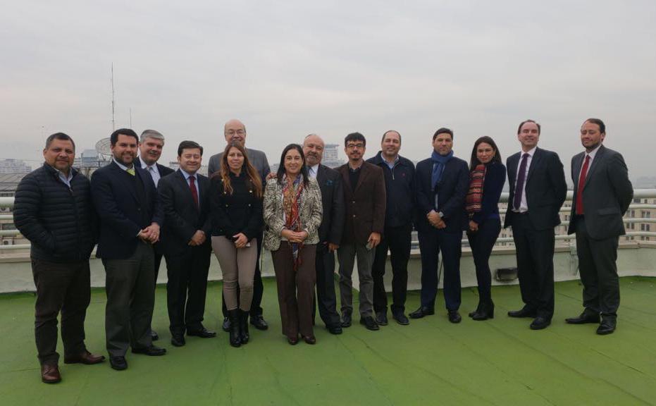 Directores Regionales de las CAJ se reunieron en Santiago