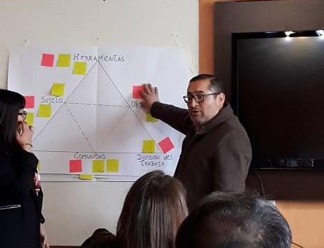 """Imparten importante taller """"Laboratorio del Cambio en la CAJTA"""""""