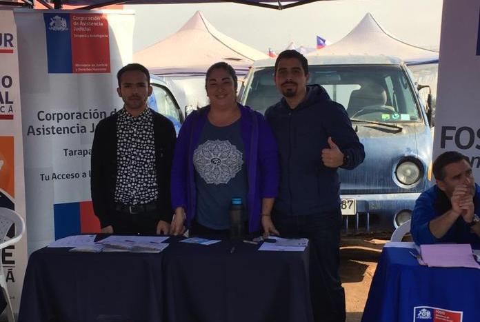 CAJTA participa de Gobierno en Terreno en Alto Hospicio