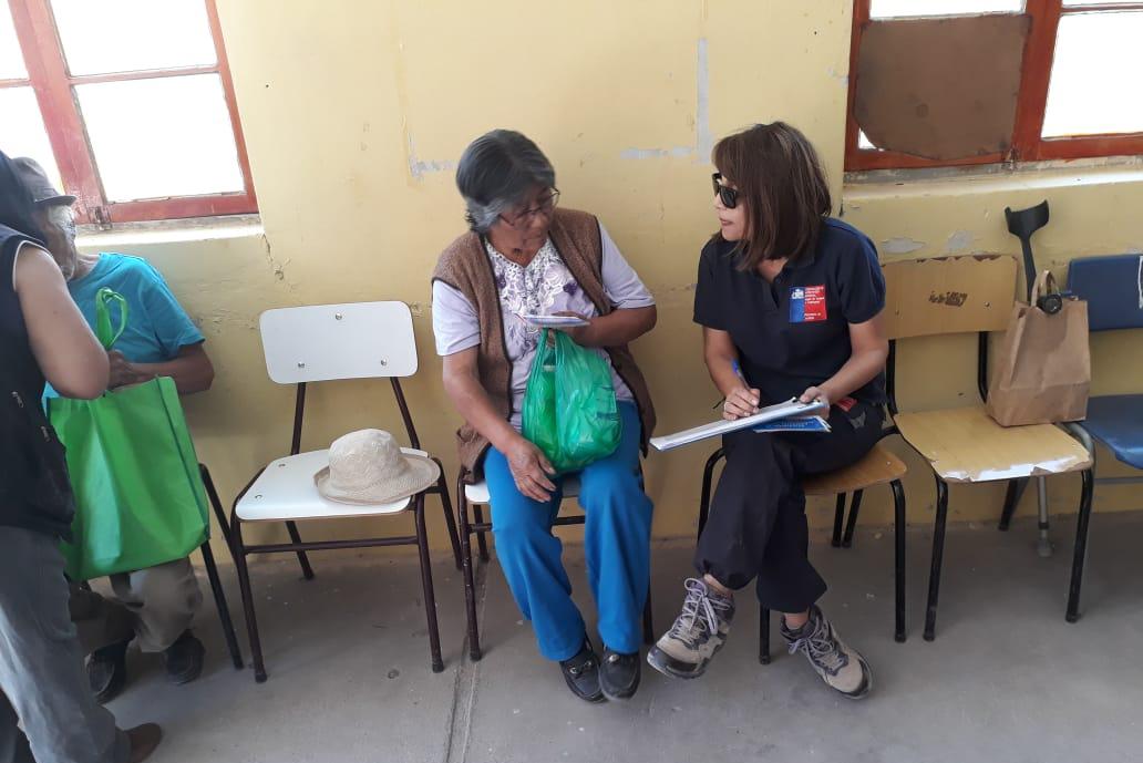 Consultorio Jurídico Móvil de Arica y Parinacota, entregó atención a los vecinos de Codpa y Guatanave