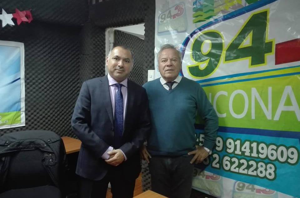 El Abogado del Consultorio Jurídico de Mejillones, difundió en Radio Rinconada FM