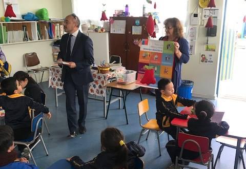 CAJTA presente en el Jardín Infantil del Liceo A-1 Marta Narea y en el Jardín Infantil del Colegio Giant School
