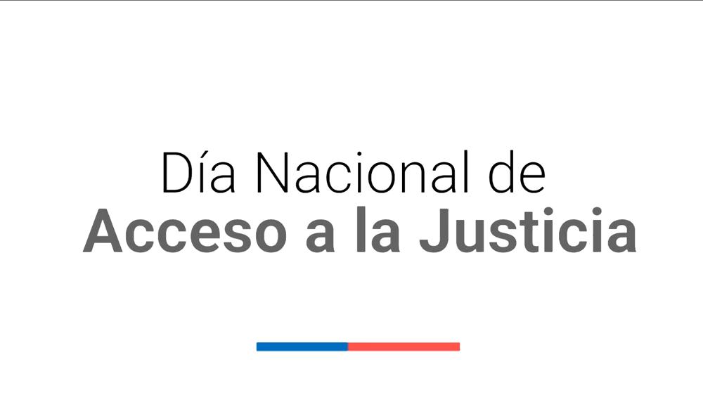 Hoy 28 de septiembre conmemoramos el Día Nacional del Acceso a la Justicia