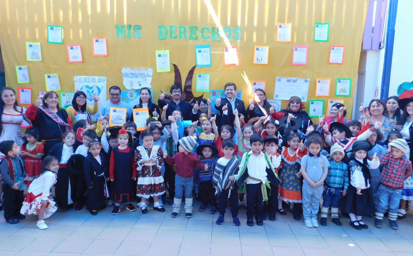 CAJTA presente en el Jardín Infantil Happy Day de Iquique