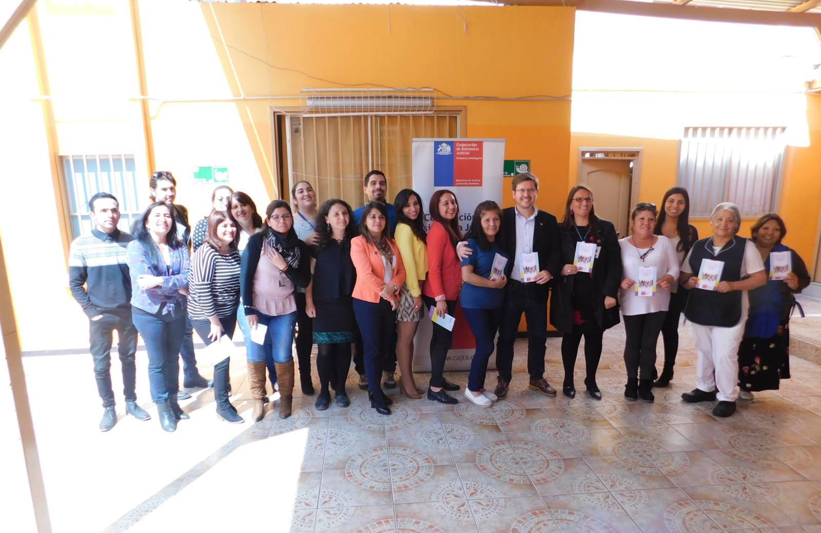 Se realizó en Iquique una fraternal actividad en la Residencia Teniente Merino de la Fundación Niño y Patria