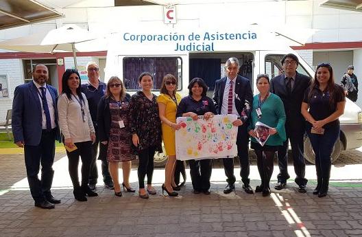 En la Región de Arica y Parinacota, se conmemoró el Día Nacional del Acceso a la Justicia a través de una Plaza de Justicia