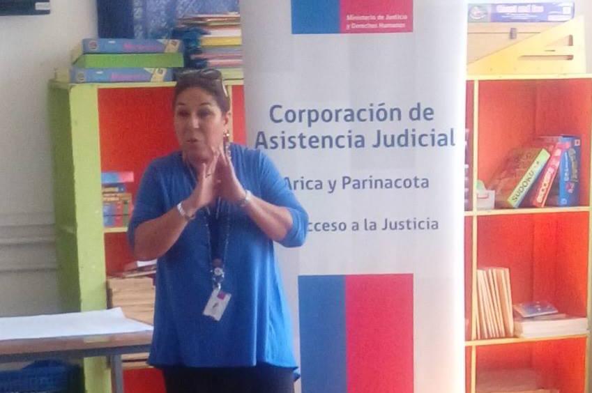 CAVI de Arica realizó una jornada de difusión en el Colegio San Juan de la Blachere