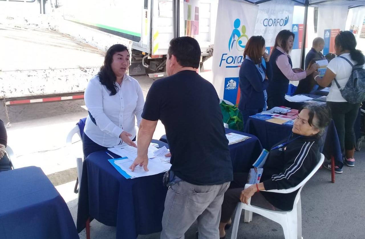 CAJTA junto a distintos Servicios Públicos presente en Gobierno en Terreno
