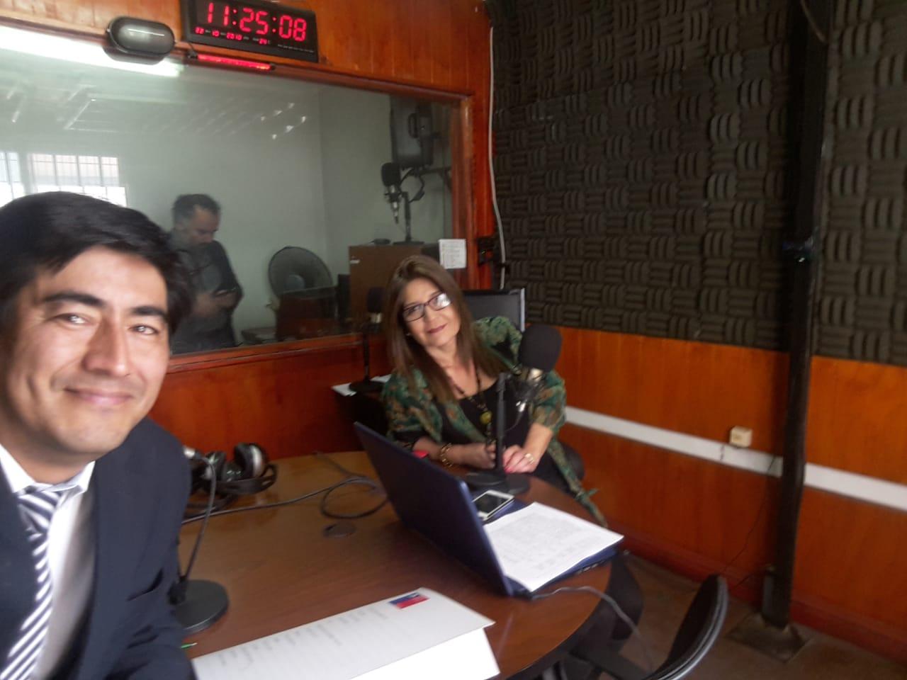 Consultorio Jurídico Antofagasta Norte participa en Radio Madero FM