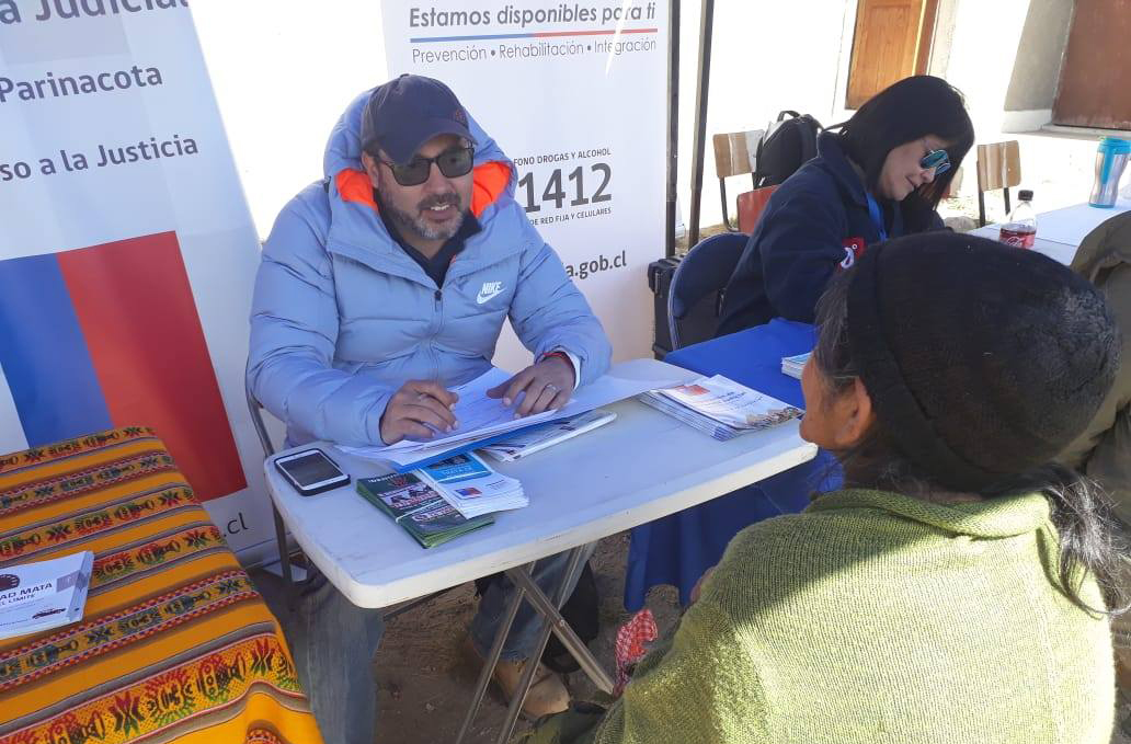 CAJTA participó en la Plaza de Gobierno en Terreno en la localidad de Guallatire