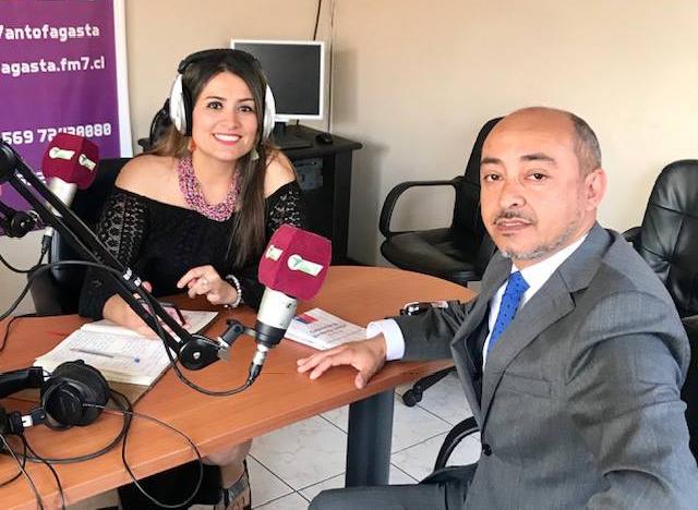 Oficina de Defensa Laboral de Antofagasta participa a Radio FM7