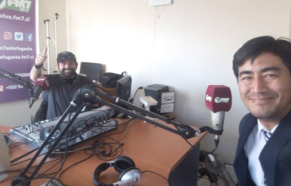 Consultorio Jurídico Antofagasta Norte participa en Radio FM7