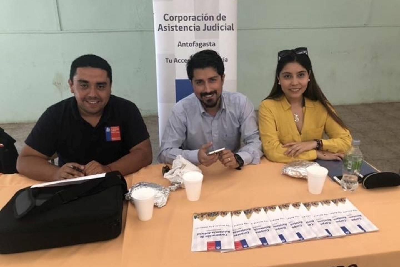 Consultorio Jurídico de Tocopilla realiza Gobierno en Terreno realizado en la localidad de Quillagua