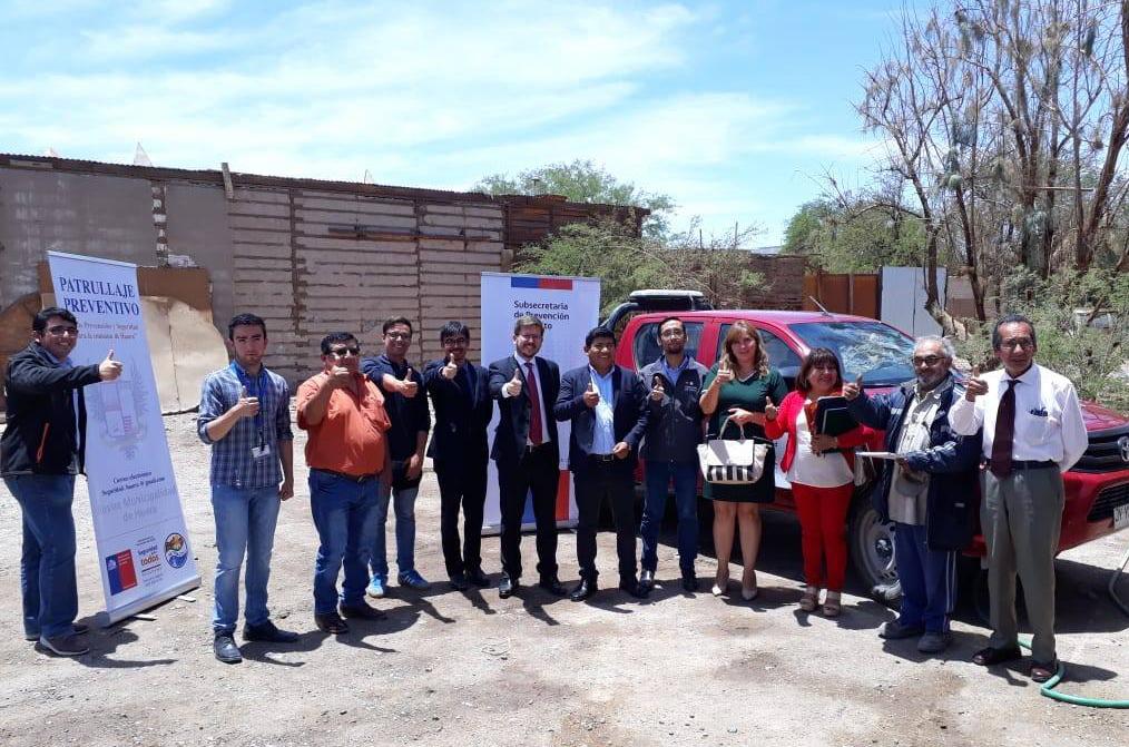 Seremi de Justicia y Derechos Humanos y CAJTA realiza visita a la Ilustre Municipalidad de Huara