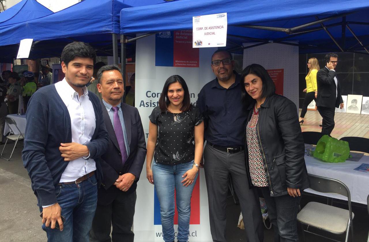 Consultorios Jurídicos de Antofagasta participan en Feria Ciudadana