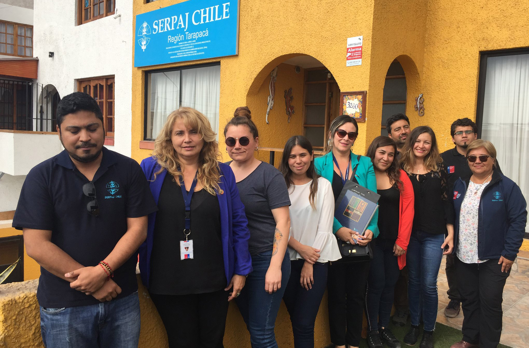 Centro de Familia de Iquique desarrolla un taller en Serpaj