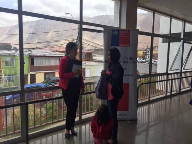 Centro de Familia presente en el Hospital Regional de Iquique