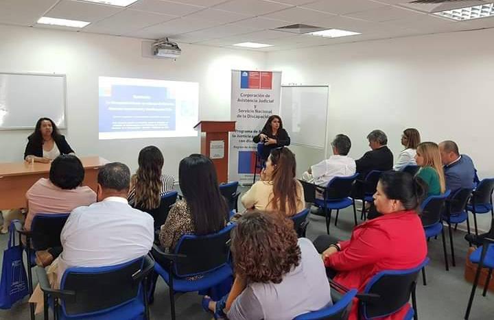 """Convenio CAJTA-SENADIS Arica realiza seminario """"DISCAPACIDAD DESDE UN ENFOQUE DE DERECHO: Experiencias, Alcances y Desafíos para Chile"""""""