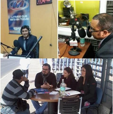 Unidades de Región de Antofagasta Prestan Servicios en Registro Civil y Radios Locales