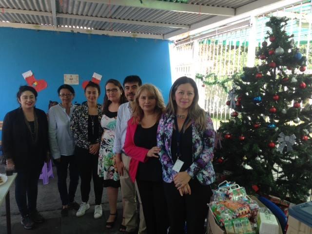 Centro de Familia de la CAJTA hace entrega de regalos navideños en el centro de cumplimiento penitenciario de Iquique