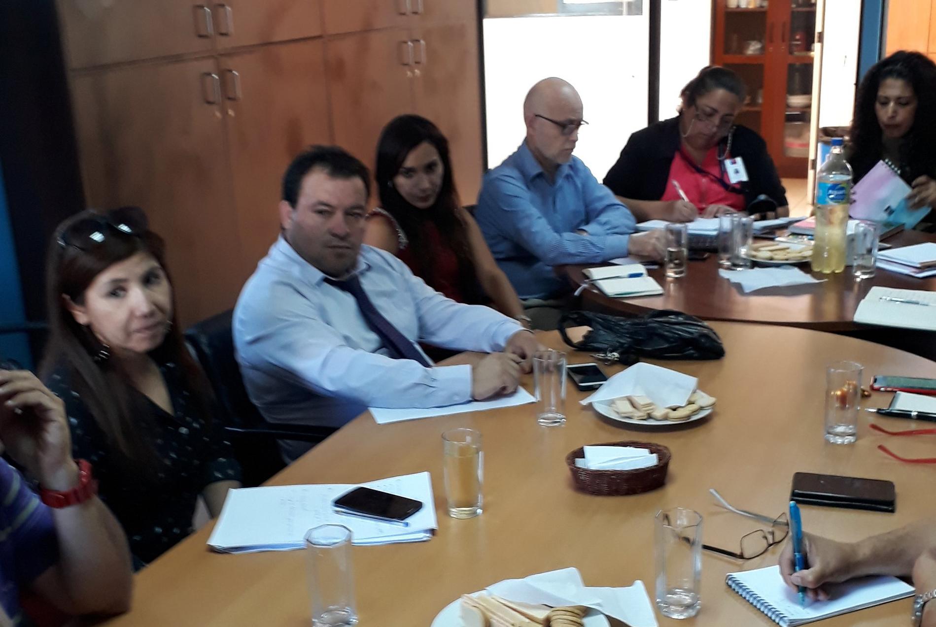 Dirección General y AFUCAJTA crean mesa de trabajo