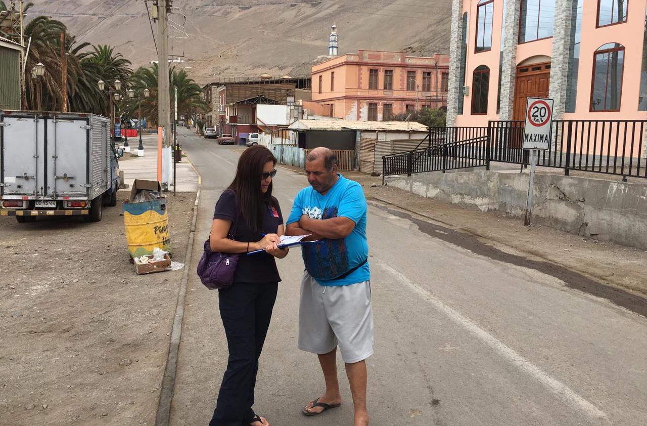 Consultorio Jurídico Móvil del Tamarugal en Pisagua
