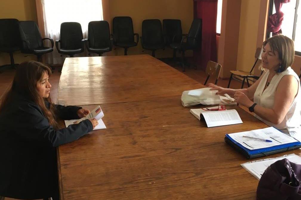 Consultorio Jurídico Móvil del Tamarugal presente en Camiña