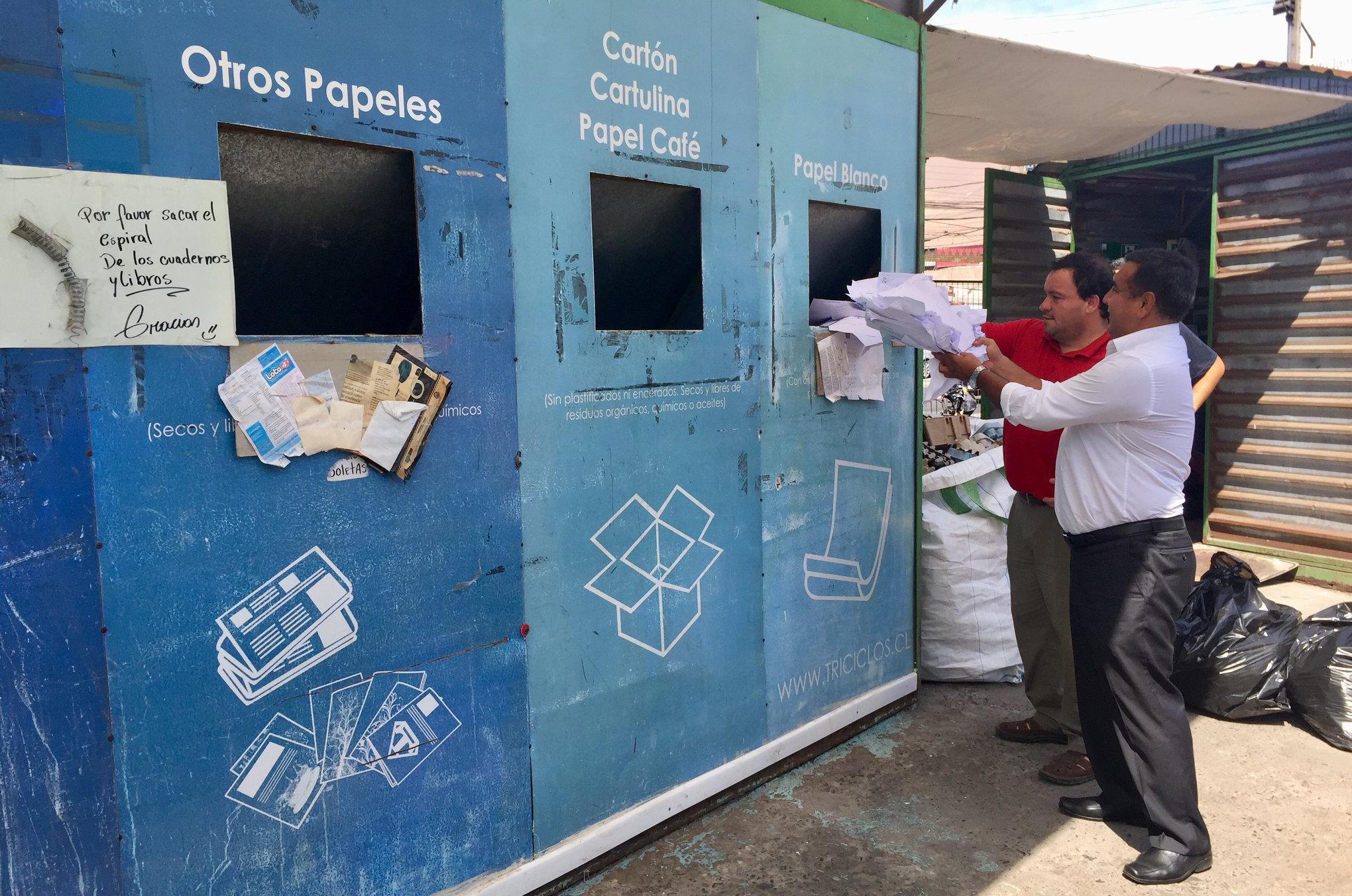 ODL Tarapacá en plan de reciclaje