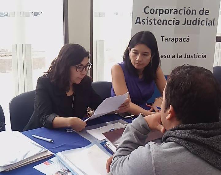 Consultorio Jurídico Alto Hospicio realiza jornada de visualización de la CAJTA