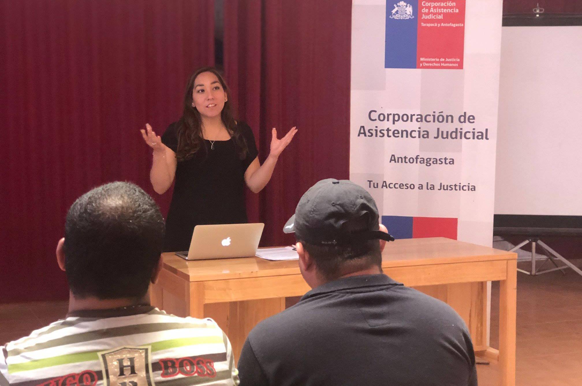 Oficina de Defensa Laboral de Calama realiza charla en San Pedro de Atacama