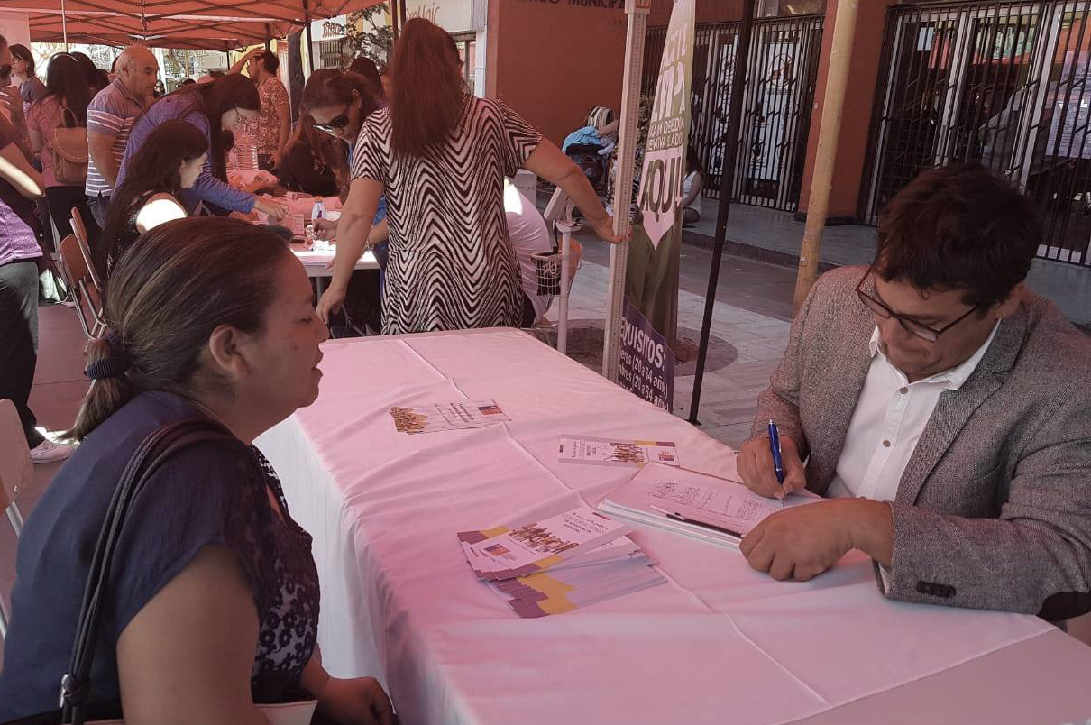 CAJTA participa en Segunda Feria Preventiva de Bienestar y Salud de la Mujer en Calama