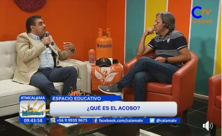 CAJTA informa sobre temas de Acoso y Bullying en Calama TV