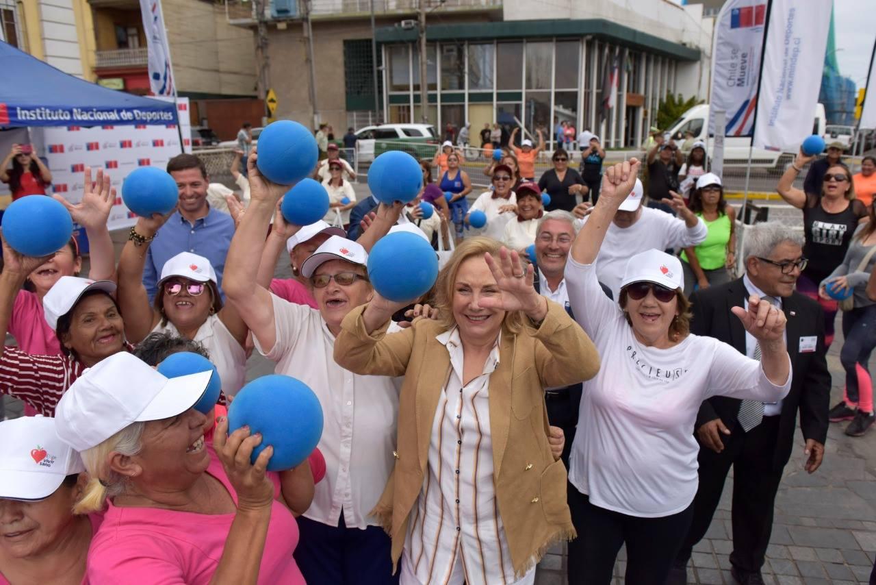 CAJTA participa en actividad con presencia de la Primera Dama, Cecilia Morel