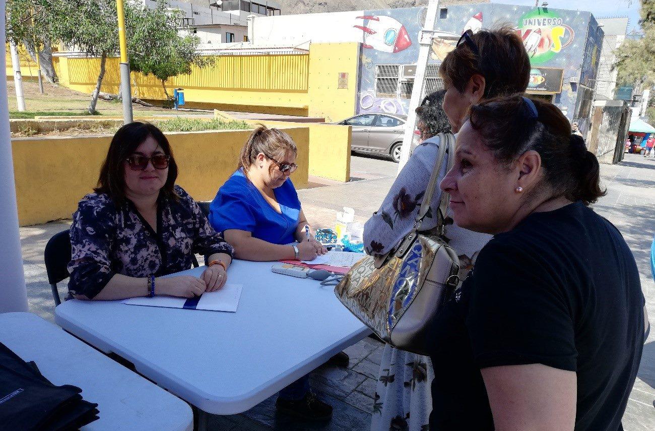 La CAJTA y sus servicios fueron difundidos y visualizados en el Gobierno en Terreno, realizado en la Plaza Carlos Condell de Tocopilla