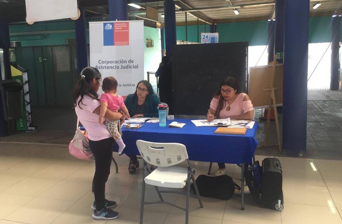 Centro de Familia visibilizó a las CAJ en Consultorio de Salud Cirujano Videla de Iquique